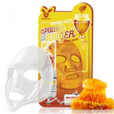 Маска тканевая с медом ELIZAVECCA Honey deep power ringer mask pack 23мл