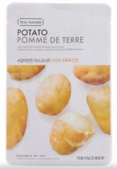 Маска с экстрактом картофеля THE FACE SHOP Real nature mask sheet snow potato 20мл