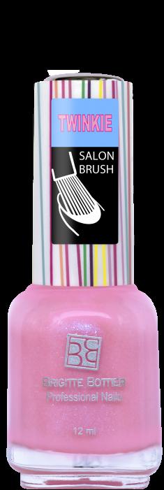 BRIGITTE BOTTIER 04 лак для ногтей, розовый перламутр / TWINKIE 12 мл