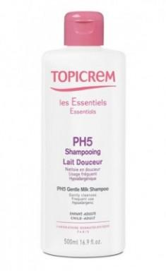 Мягкий шампунь pH5 TOPICREM 500мл