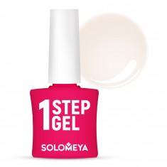 SOLOMEYA Гель-лак однофазный для ногтей, 2 облака / One Step Gel Clouds 5 мл