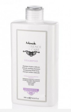 Шампунь успокаивающий для чувствительной кожи головы NOOK Difference Hair Care Leniderm Ph 5,5 500 мл