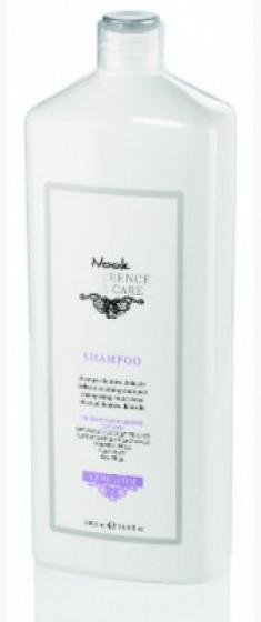 Шампунь успокаивающий для чувствительной кожи головы NOOK Difference Hair Care Leniderm Ph 5,5 1000 мл
