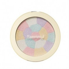 Хайлайтер минеральный THE SAEM Saemmul Luminous Multi Highlighter 01. Pink White 8гр