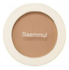 Румяна THE SAEM Saemmul Single Blusher BR02 Naked BrownShading 5гр