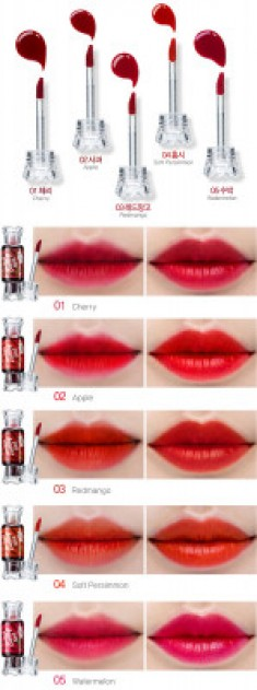 Тинт для губ Конфетка THE SAEM Saemmul Water Candy Tint 03 Redmango 10g