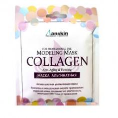 Маска альгинатная с коллагеном укрепляющая Anskin Collagen Modeling Mask 25г