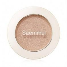 Тени для век мерцающие THE SAEM Saemmul Single ShadowShimmer BE02 2гр