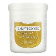 Маска альгинатная лифтинг-эффект банка Anskin Clarifying Gold Modeling Mask / container 450гр/700мл