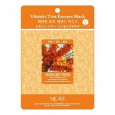 Маска тканевая облепиха Mijin Vitamin Tree Essence Mask 23гр
