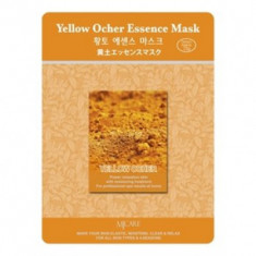 Маска тканевая охра Mijin Yellow Ocher Essence Mask 23г