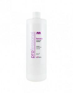 Шампунь кератиновый для окрашенных и химически обработанных волос Kaaral Keratin Color Care Shampoo 1000мл