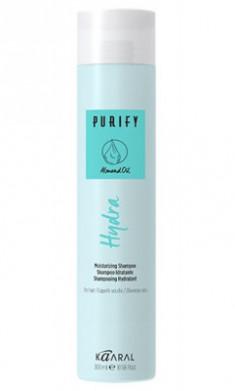 Шампунь увлажняющий для сухих волос Kaaral Purify-Hydra Shampoo 300 мл
