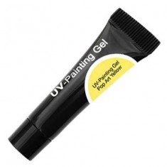 Cnd uv-painting gel pop art yellow 5мл tube (уф гель-краска)не использовать на натуральных ногтях