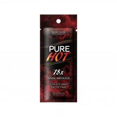 крем для загара в солярий sun luxe pure hot 18x (15 мл)
