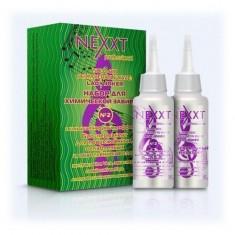 Nexxt профф. набор для хим.завивки № 2 био-перманент для поврежд.и освет.волос 2*100мл