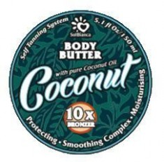 Sb твердое масло - автозагар кокос body butter 8840 150мл. Sol Bianca