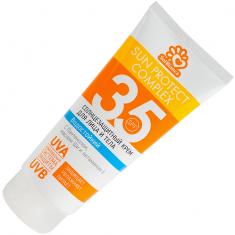 Sol bianca солнцезащитное, водостойкое крем для загара лица и тела spf-35 200мл.