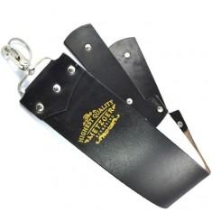 Metzger-barbering кожаный ремень lb-12530 (black)