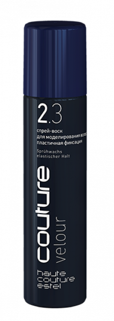 ESTEL HAUTE COUTURE Спрей-воск для моделирования волос / VELOUR 100 мл