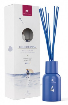 CRISTALINAS Диффузор ароматический Водная лилия и бергамот / Mikado Colorterapia Premium № 4 125 мл