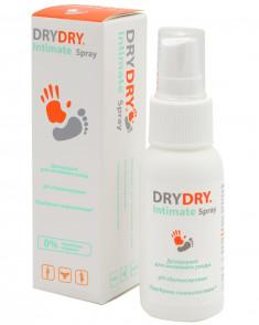 DRY DRY Средство косметическое для интимной гигиены / Intimate Spray 50 мл