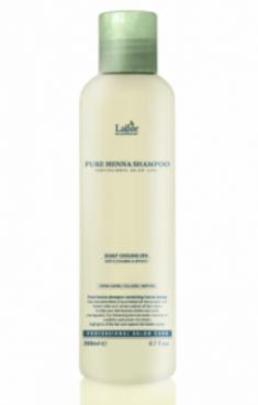 Шампунь для волос с хной, кактусом и ментолом La'dor Pure Henna Shampoo 200мл