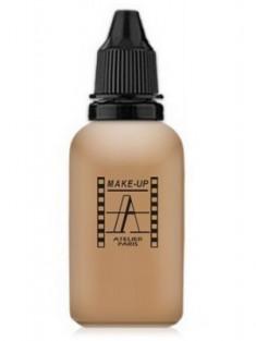 Тон-флюид водостойкий д/аэрографа Make-Up-Atelier 4Y золотистый, 30 мл Make-Up Atelier Paris