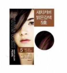 Краска для волос на фруктовой основе Welcos Fruits Wax Pearl Hair Color #05 60мл*60г