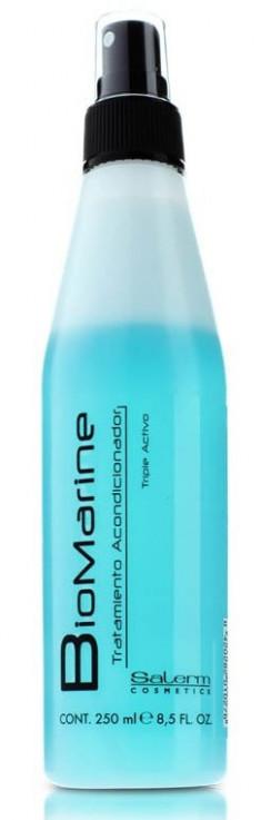 SALERM COSMETICS Кондиционер несмываемый для волос / BIOMARINE 250 мл