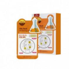 Маска для лица тканевая витаминная Mijin Uniquleen Vita Real Whitening Mask 26г
