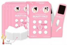 Набор масок + бандаж для подтяжки контура лица Rubelli Beauty Face 20мл*7