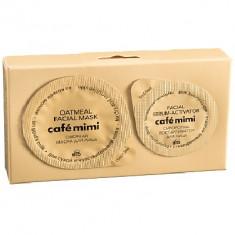 Кафе Красоты le Cafe Mimi Маска для лица Овсяная на козьем молоке для сухой и чувствительной кожи 20мл КАФЕ КРАСОТЫ
