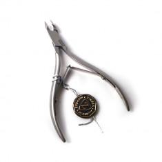 BEAUTIX Кусачки маникюрные удлиненные с 2 пружинами, матовые, ручная заточка ZINGER (zp-PT-03(5.5)-M 2spr)