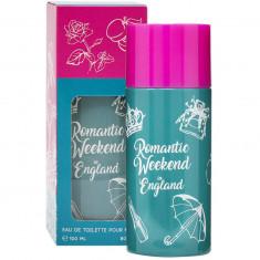 ROMANTIC WEEKEND IN ENGLAND Туалетная вода женская 100мл SERGIO NERO