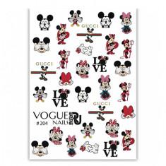 Vogue Nails, Слайдер-дизайн №204