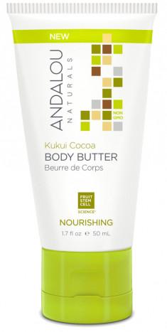 ANDALOU NATURALS Масло питательное для тела Орех кукуи и какао 50 мл