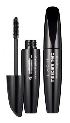 LIMONI Тушь супер объем и удлинение 01 / Mascara Nero black