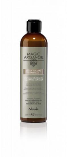 Шампунь для придания объёма тонким и наэлектризованным волосам NOOK EXTRA VOLUME SHAMPOO 250 мл