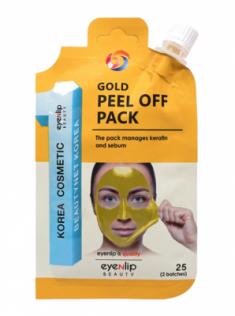 Маска-пленка очищающая Eyenlip GOLD PEEL OFF PACK 25гр
