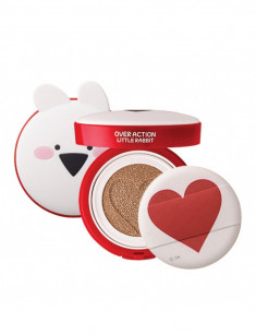 основа тональная the saem over action little rabbit love me cushion spf50+ pa+++