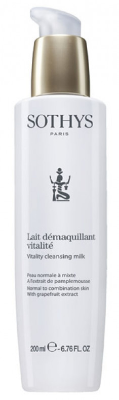 SOTHYS Молочко очищающее с экстрактом грейпфрута для нормальной и комбинированной кожи / ESSENTIAL PREPARING TREATMENTS 200 мл