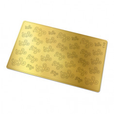 Freedecor, Металлизированные наклейки №118, золото