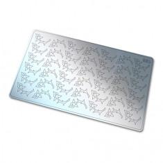 Freedecor, Металлизированные наклейки №156, серебро