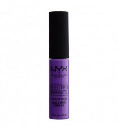 NYX PROFESSIONAL MAKEUP Матовая жидкая помада-крем для губ Electro Brights Matte Lip Cream - Florence