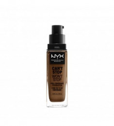 NYX PROFESSIONAL MAKEUP Тональная основа Can't Stop Won't Stop Full Coverage Foundation - Cappuccino 17