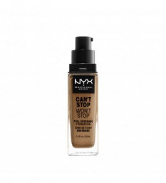 NYX PROFESSIONAL MAKEUP Тональная основа Can't Stop Won't Stop Full Coverage Foundation Golden Honey 23