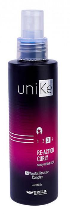 BRELIL PROFESSIONAL Средство для усиления эффекта вьющихся волос / UniKe 150 мл