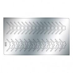 Freedecor, Металлизированные наклейки №213, серебро