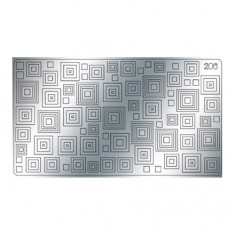 Freedecor, Металлизированные наклейки №206, серебро
